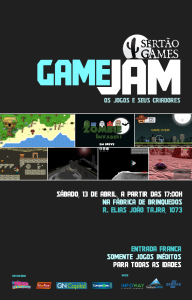 Poster for the Game Jam games demo