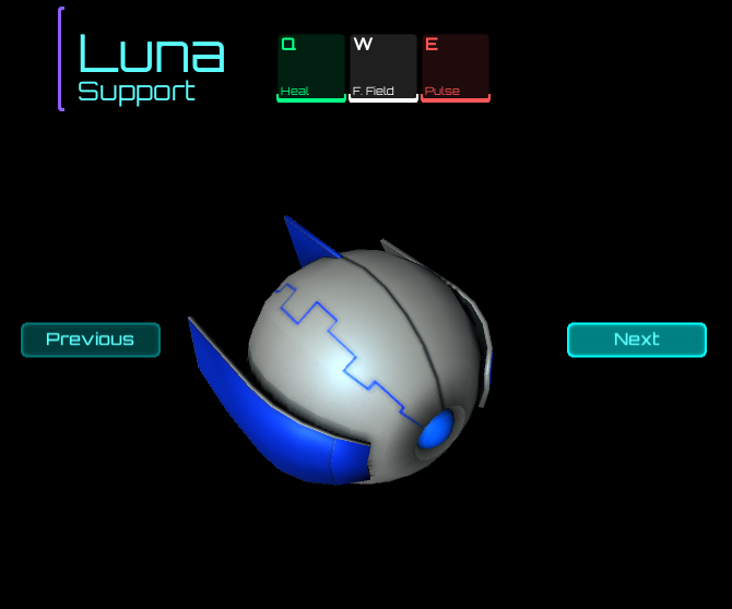 Luna (support): use it to engage a lane together with another mecha.